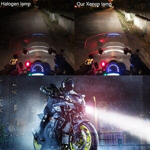 2018 Новые супер яркие ксеноновые H4 BA20D P15D фары для мотоцикла галогенные скуте автомобильные лампы для Кафе racer ktm exc