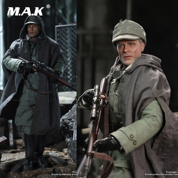 цены D80138 1/6 Scale Male Solider Stalingrad German Sniper Major Corning 2.0 10th Anniversary Edition for Fans Holiday Gifts