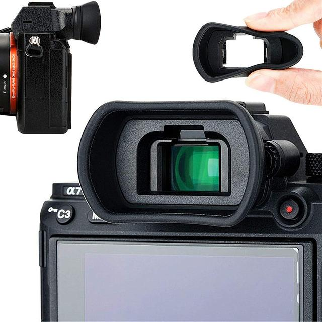Camera Viewfinder Eyecup Eyepiece Eye Cup for Sony a7RIV a7RIII a7III a7RII a7SII a7II a7R a7S a7 a9 a9II a99II Replace FDA EP18