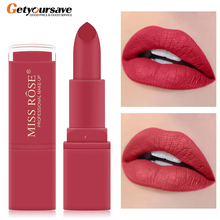 Miss Rose Lipstick Makeup Waterproof Long-acting Pearl Lipstick Pigment Nude Pin