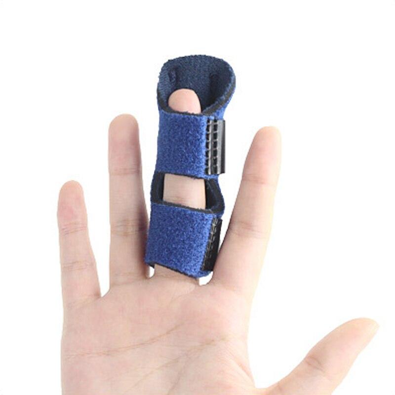 1Pcs Aluminium Finger Splint Adjustable Bandage Fracture Protector Support Brace Corrector Finger Pedicure Tools Pain Relief