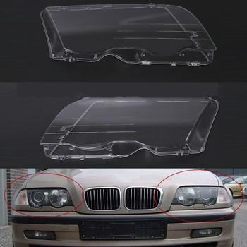 Headlight Cover For BMW E46 1998~2001 Car Headlight Headlamp Lens Clear Cover Auto Shell ( 4 Doors )