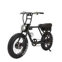 Entrega V-B08MFood bicicleta eléctrica shimano gear, estilo retro, 750w