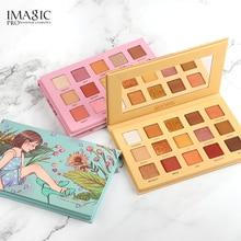 IMAGIC Eyeshadow Palette 15 Colors Matte Shimmer Glitter  Paleta De Maquiagem Collectie Charming Oogschaduw Kleurenpalet