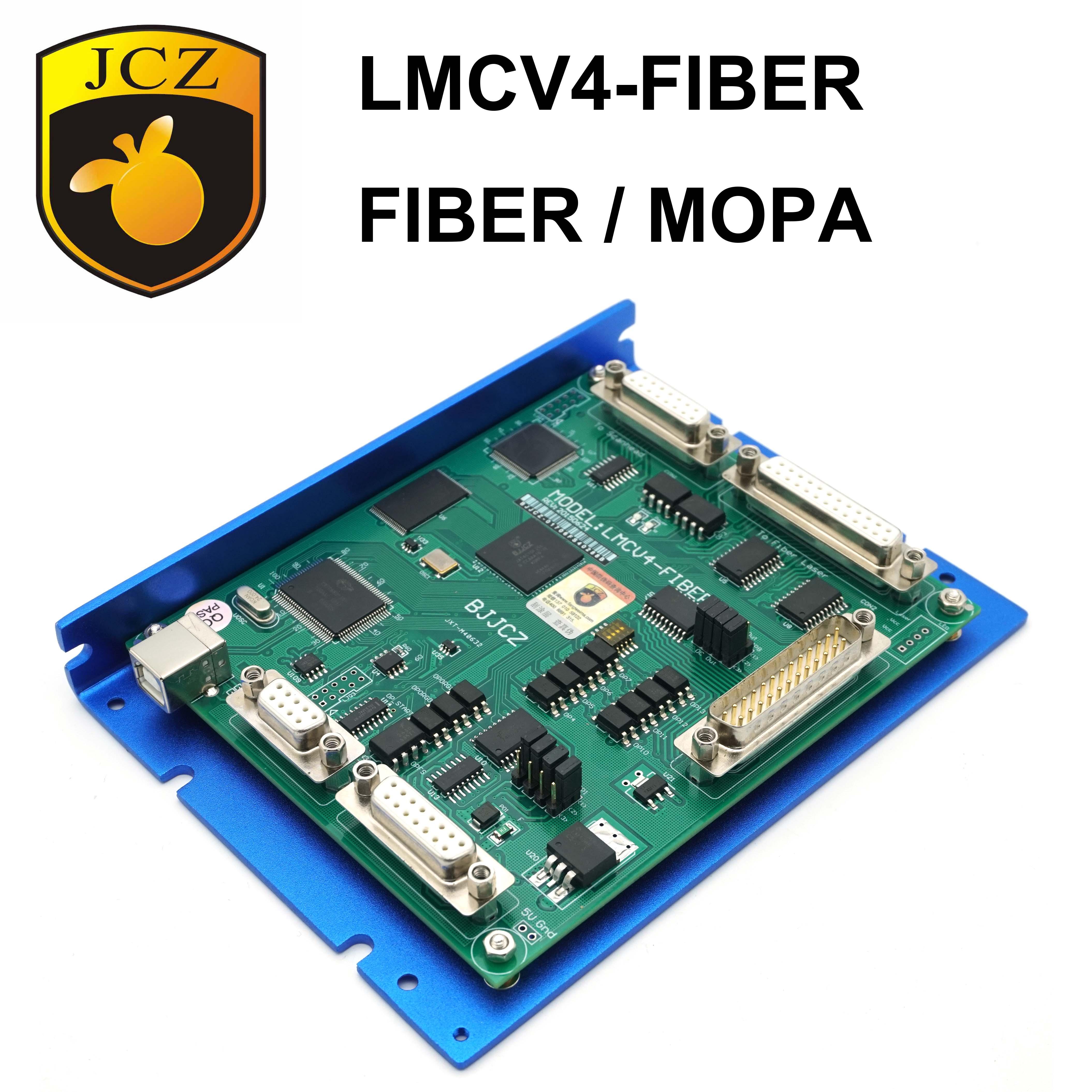 Free Shipping JCZ BJJCZ LMCV4-FIBER Fiber DPSS EzCAD2 Laser Marking Card