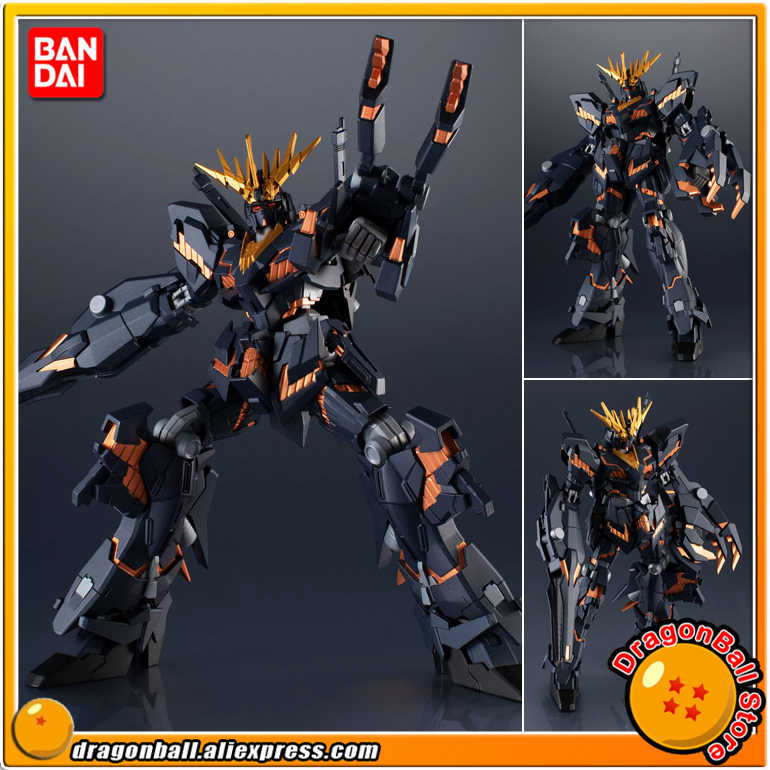 "Japan Anime ""Mobile Suit Gundam"" Originele Bandai Geesten Tamashii Naties Gundam Universe Action Figure - RX-0 Gundam 02 banshee"