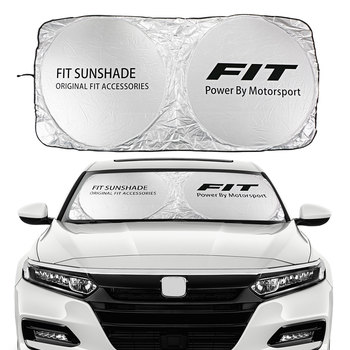 Car Windshield Sun Shade Cover For Honda Fit JAZZ EV 1.2 iDSI VTEC Shuttle  Auto Accessories Blocks UV Rays Visor Protector - discount item  30% OFF Exterior Accessories