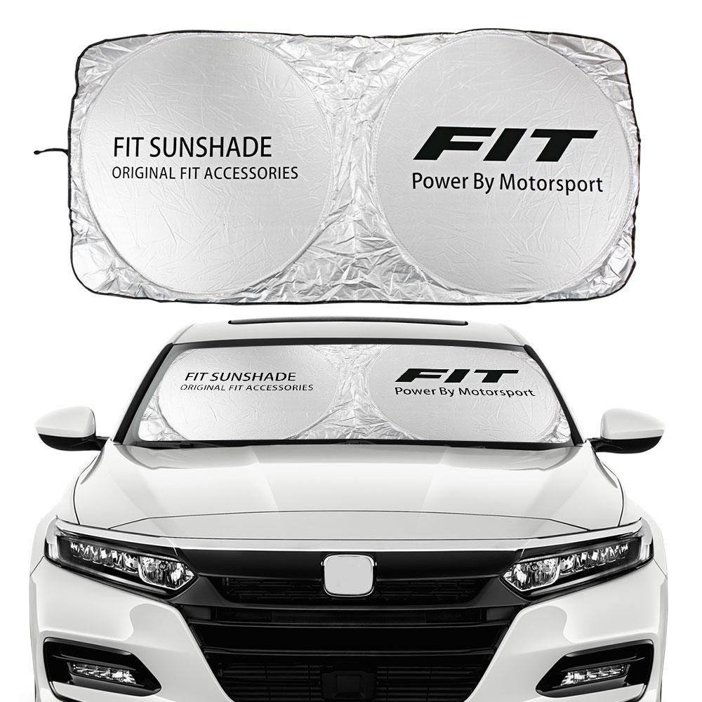 Przednia szyba samochodu osłona przeciwsłoneczna dla Honda Fit JAZZ EV 1.2 iDSI VTEC Shuttle akcesoria samochodowe bloki promienie UV osłona przeciwsłoneczna Protector