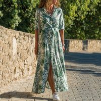 Летнее платье с тропическим принтом  Цена на распродаже 911 ₽ ($11.48)  Посмотреть