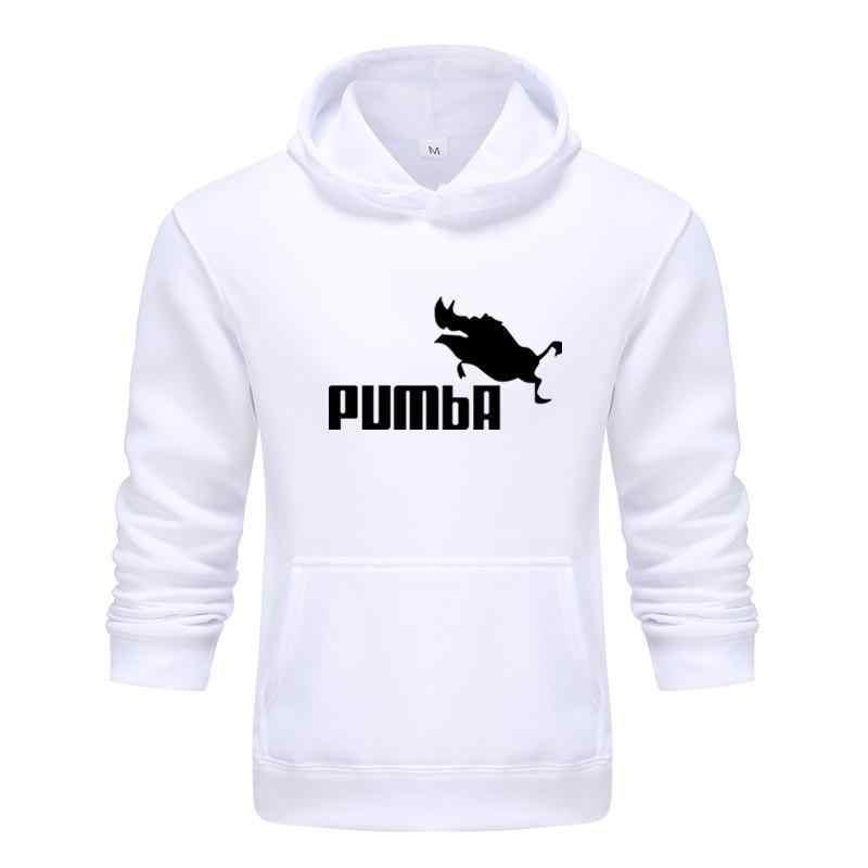 2020 새로운 패션 재미있는 후드 homme pumba 까마귀 남성 여성 2019 긴 소매 스웨터 멋진 인쇄 패션 streetwear hoody