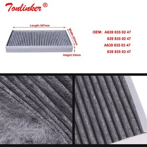 Image 5 - Cabin Filter A6398350247/A639835037 1 Pcs For Mercedes VIANO W639 2003 2019 VITO MIXTO Box VITO Bus Model Built in Carbon Filter