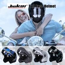 JIEKAI Motorcycle Helmets Motorbike Full Face Helmet Street
