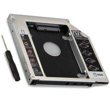 12.7mm 2nd HDD SSD Hard Drive Optical bay Caddy Frame Adapter For Asus K53SV N56 N56V N56J N56JR N56VJ N56VM N53 N53JF N53SN