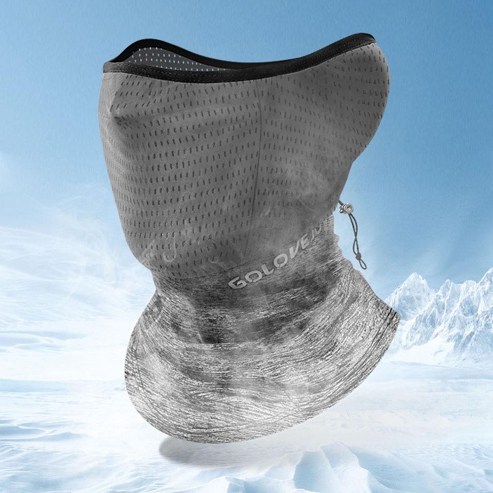 Summer Black Caps  Running Scarf Anti-UV Headwear Bicycle Bandana Sports Fishing Mask Cover Magic Scarf ice silk 4