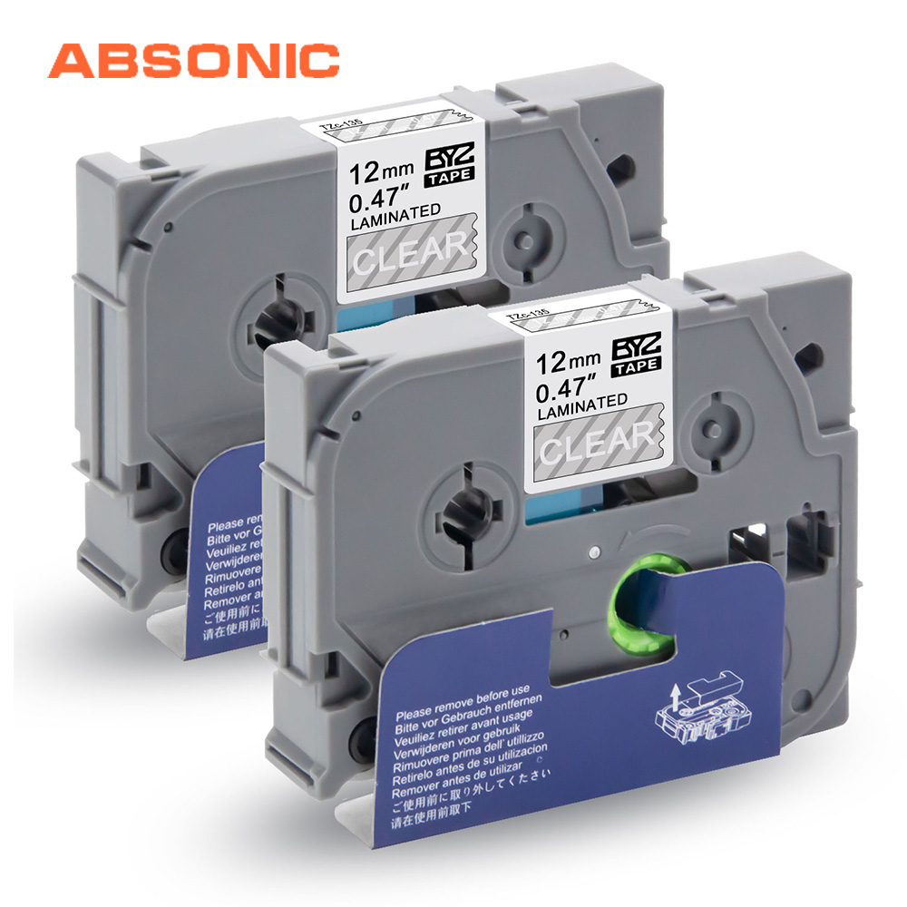 COMPATIBLE LABEL TAPE FOR BROTHER 9mm,12mm FOR PT9600 PT-P700 PT-P750W