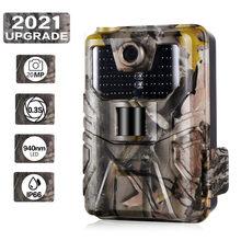 Trilha câmera 20mp 1080p caça câmera hc900a jogo de rastreamento floresta animais selvagens câmera scout visão noturna vigilância foto armadilhas