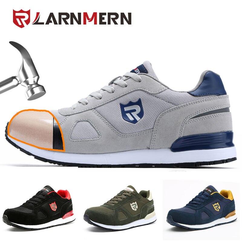 MODYF chaussures de sécurité travail Construction bottes hommes en plein air embout en acier grande taille chaussures hommes anti-crevaison baskets légères
