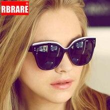 RBRARE 2019 Luxury Sunglasses Women Brand Designer Cat Eye Candies Lens Lady Sun Glasses Classic Lunette De Soleil Femme