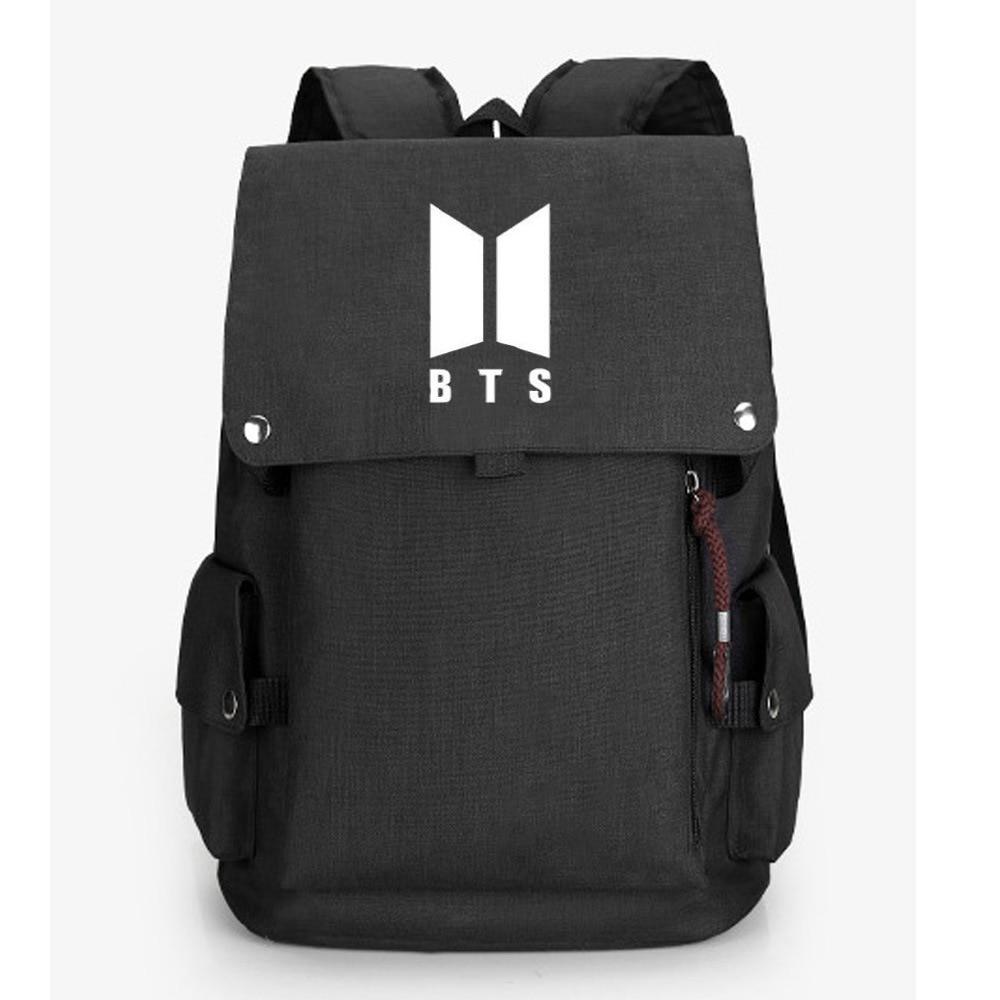 Foreign Trade Hot Selling Backpack BTS Bulletproof Boys Men And Women Travel Bag Computer Bag Schoolbag Cross Border Backpack