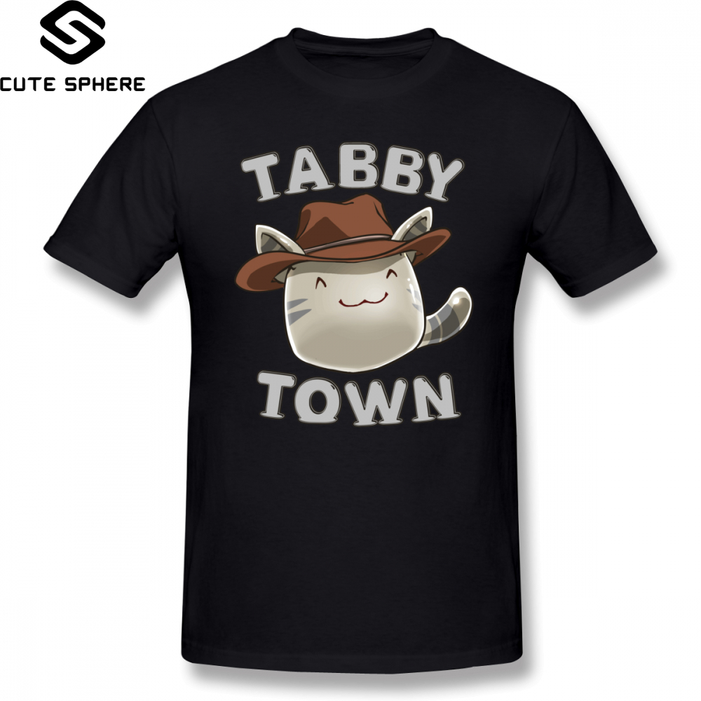 <font><b>Slime</b></font> <font><b>Rancher</b></font> T <font><b>Shirt</b></font> Tabby Town T-<font><b>Shirt</b></font> Graphic XXX Tee <font><b>Shirt</b></font> Awesome Short Sleeve Cotton Male Fashion Tshirt image
