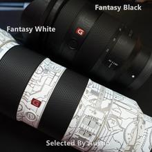 レンズ用スキンソニーfe 24 70 2.8GMアンチスクラッチデカールステッカーラップフィルムプロテクターケース