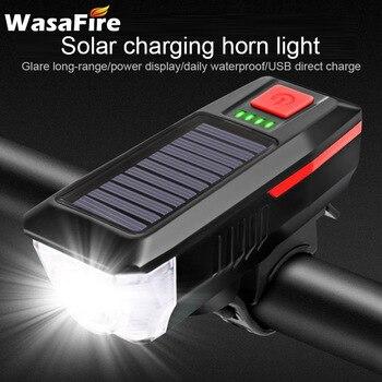 solar fietslamp fel voorlicht