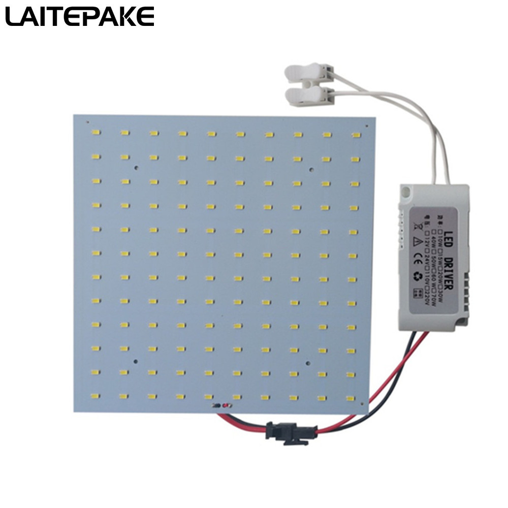110/220V 10-50W Led Grow Light Quantum Board Full Spectrum Samsung 5370 Chip 650NM 450NM 520NM 2700-6500K For DIY Led Grow