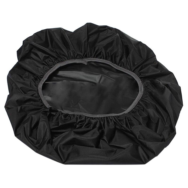 Waterproof Rain Cover Camping For Travel Hiking Backpack Trolley Bag Rucksack Black
