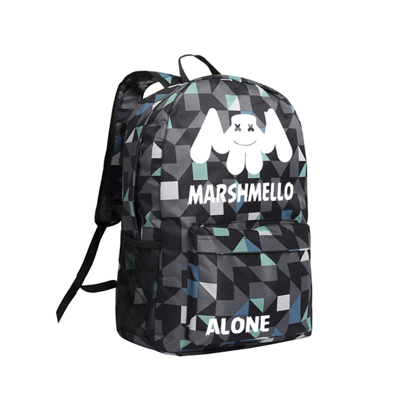 NEW Marshmello Backpack School Rucksack Travel Laptop Mask DJ For Boys Girls Bag