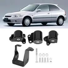 Rear Fits Acura EL Honda Civic CR-V Prelude L4 1.6L 2.0L Auto Trans Mount
