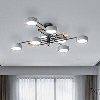 led ceiling lights living room brief bedroom acrylic modern luminarias plafonnier lamparas de techo gold ceiling lamp