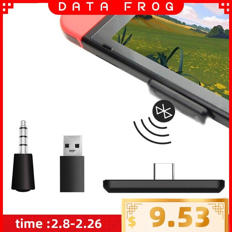 Adaptateur Bluetooth USB/type-c sans fil pour Nintendo Switch transmetteur récepteur Audio pour convertisseur Console PS4 pour PC