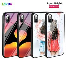 Black Cover Best Friend Forever for iPhone X XR XS Max for iPhone 8 7 6 6S Plus 5S 5 SE Super Bright Glossy Phone Case black cover japanese samurai for iphone x xr xs max for iphone 8 7 6 6s plus 5s 5 se super bright glossy phone case