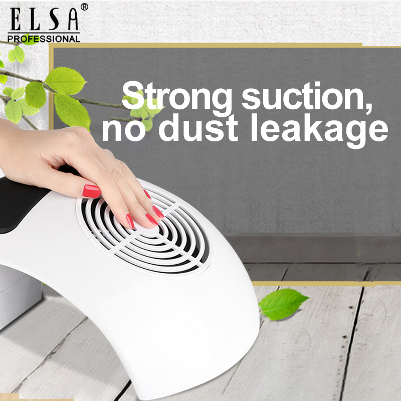 80W Strong Suction Vacuum Cleaner For Manicure Nail Dust Fan For Manicure Tool Vacuum Cleaner Nail Art Equipment Salon Tools