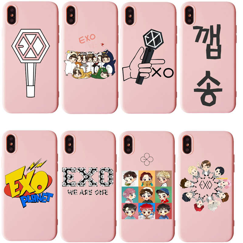 Exo K Pop Baekhyun Soft Silicone Case For Apple iPhone 11 11Pro XR Xs Max X or 10 8 7 6 6S Plus 5 5S SE Phone Case