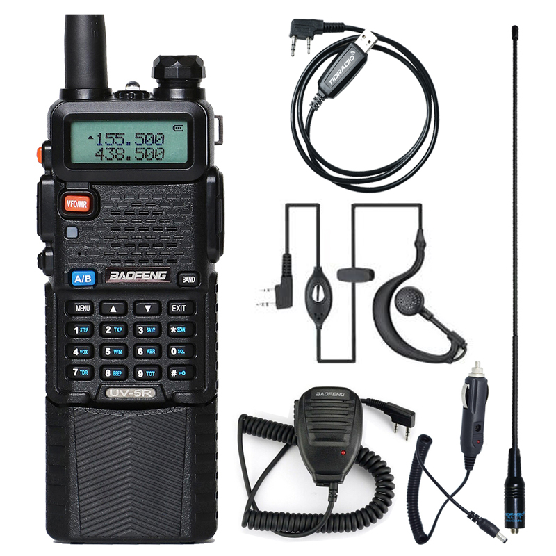 Baofeng Walkie Talkie Uv 5r 3800 Dual Band VHF UHF 136-174/400-520mhz Two-way Radio Walky Talky Uv-5r Radio Station