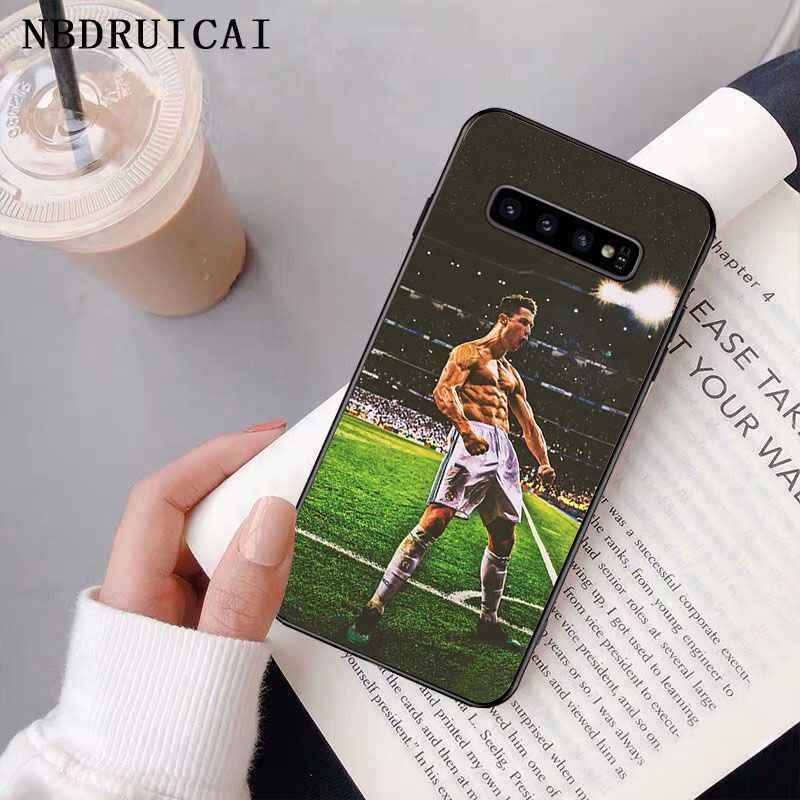 NBDRUICAI Ronaldo Luiz Nazario De Lima etui na telefon do Samsung S9 plus S5 S6 krawędzi plus S7 krawędzi S8 plus S10 E S10 plus
