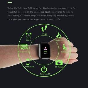 Image 2 - Спортивные умные часы TLXSA с шагомером, Bluetooth, водонепроницаемые умные часы с монитором сна для мальчиков, Подарочные часы D13 для Android