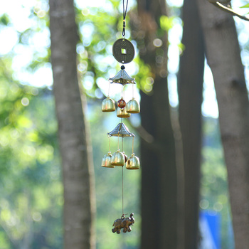 Outdoor Living Wind Chimes Yard Garden Tubes Bells Copper Antique Windchime Wall Hanging Home Decor Decoration wind chimes 21