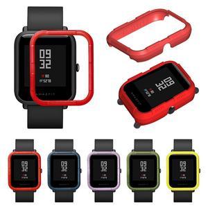 Защитный чехол-бампер Amazfit Bip, Жесткий Чехол для часов Amazfit Bip из поликарбоната, для Xiaomi Youth Watch