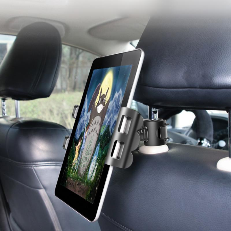 Car Phone Holder Tablet Universal Computer Stand Suction IPad Plate Bracket Navigation Interior Accessories Stuff Support TXTB1