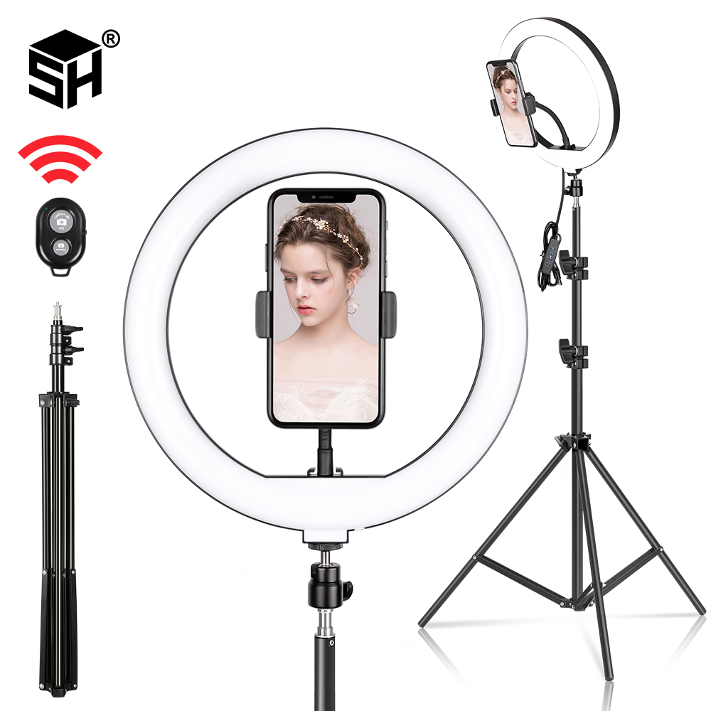 10inch/26cm Led Ring Light Selfie Ring Light Photography For Youtube Makeup Video Makeup