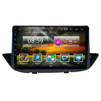9 inch 2 Din Android Car Multimedia Player for Peugeot 308 2010-2016 stereo GPS navigation Support BT WIFI FM image