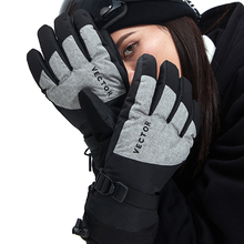 Ski-Fleecy-Gloves Snowmobile Motorcycle Winter Waterproof Warm Sport Riding Extra-Thick
