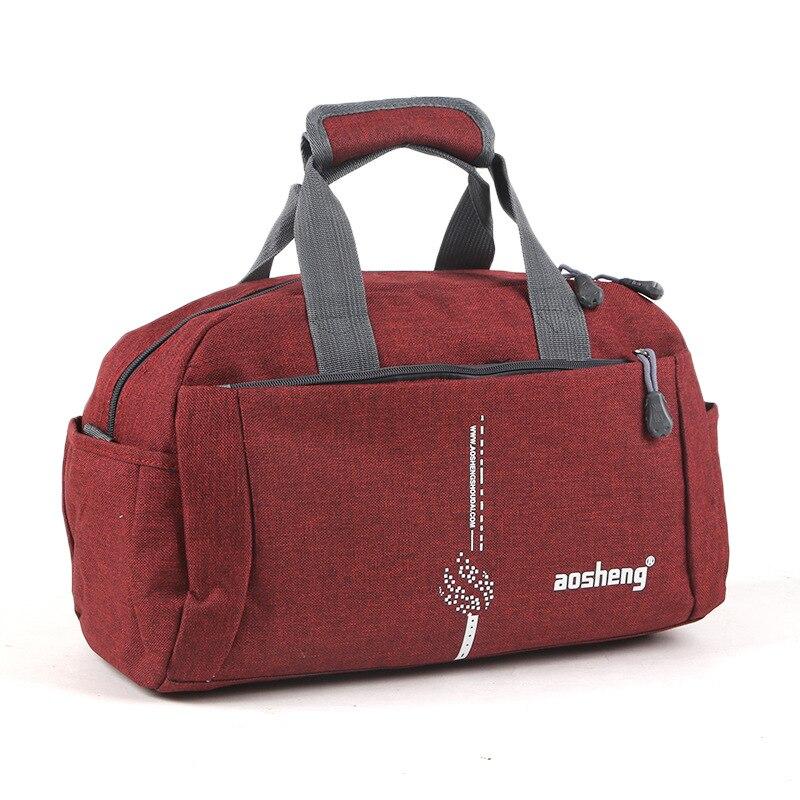 Manufacturers Travel Bag Customizable Logo Hand Gym Bag Women's Short Trip Sports Bag Canvas Casual Training Package Travel Bag