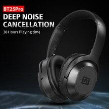 Langsdom BT25Pro نشط إلغاء الضوضاء سماعات سماعة لاسلكية تعمل بالبلوتوث 38 ساعة اللعب ANC سماعة الألعاب ل PUBG Overwatch