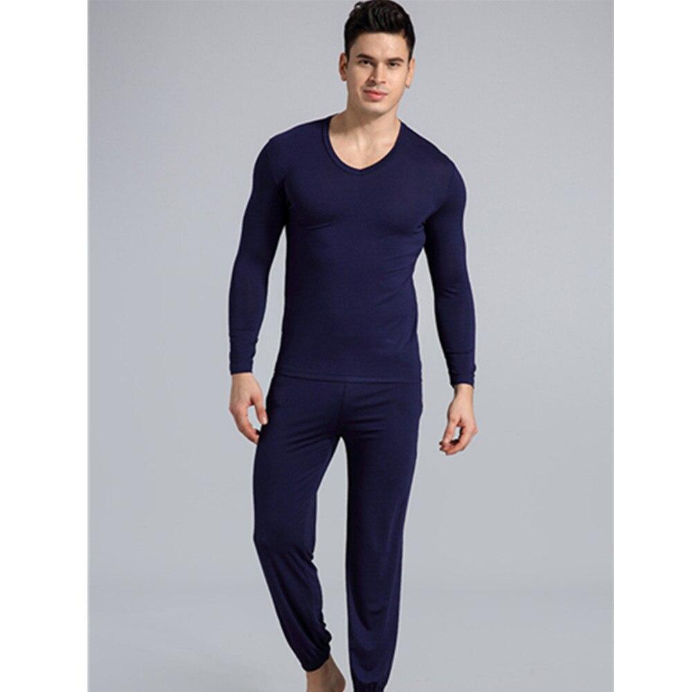 Fdfklak 2020 Spring Autumn New Men Pyjamas Mens Sleepwear Night Wear Plus  Size L XXL Modal Pijamas 2 Pieces Sleep Set Men's Pajama Sets  - AliExpress