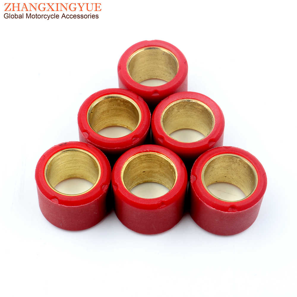 Prima Scooter Roller Weight Set Scooter Part 8g 16 x 13 mm, 6 pcs