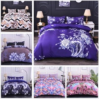 3D Duvet Covers Plants Flowers Bedding Set Luxury Quilt Cover Bed Covers Comforter Cover Single/Twin/Full/Queen/King Size
