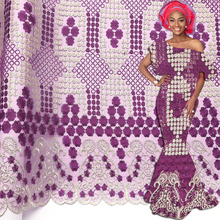 New arrivals African Tulle Lace Fabrics With Stones Magenta Net Lace African French Lace High Quality With Beads Wedding